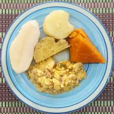 Jamaican Pumpkin Soup Vegan by Breakfast For Today Ackee And Saltfish With Pumpkin Sweet Potato