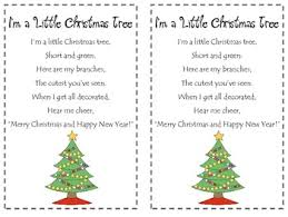 I M A Little Christmas Tree Poetry Pack By Amber Morrow Tpt