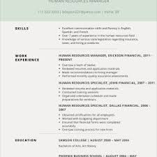 Resume Examples 2017 Fresh Excellent