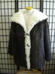 brand new brown beaver u0026 curly lamb fur jacket coat for men