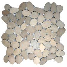 Sliced Pebble Tile Canada by Cnk Tile