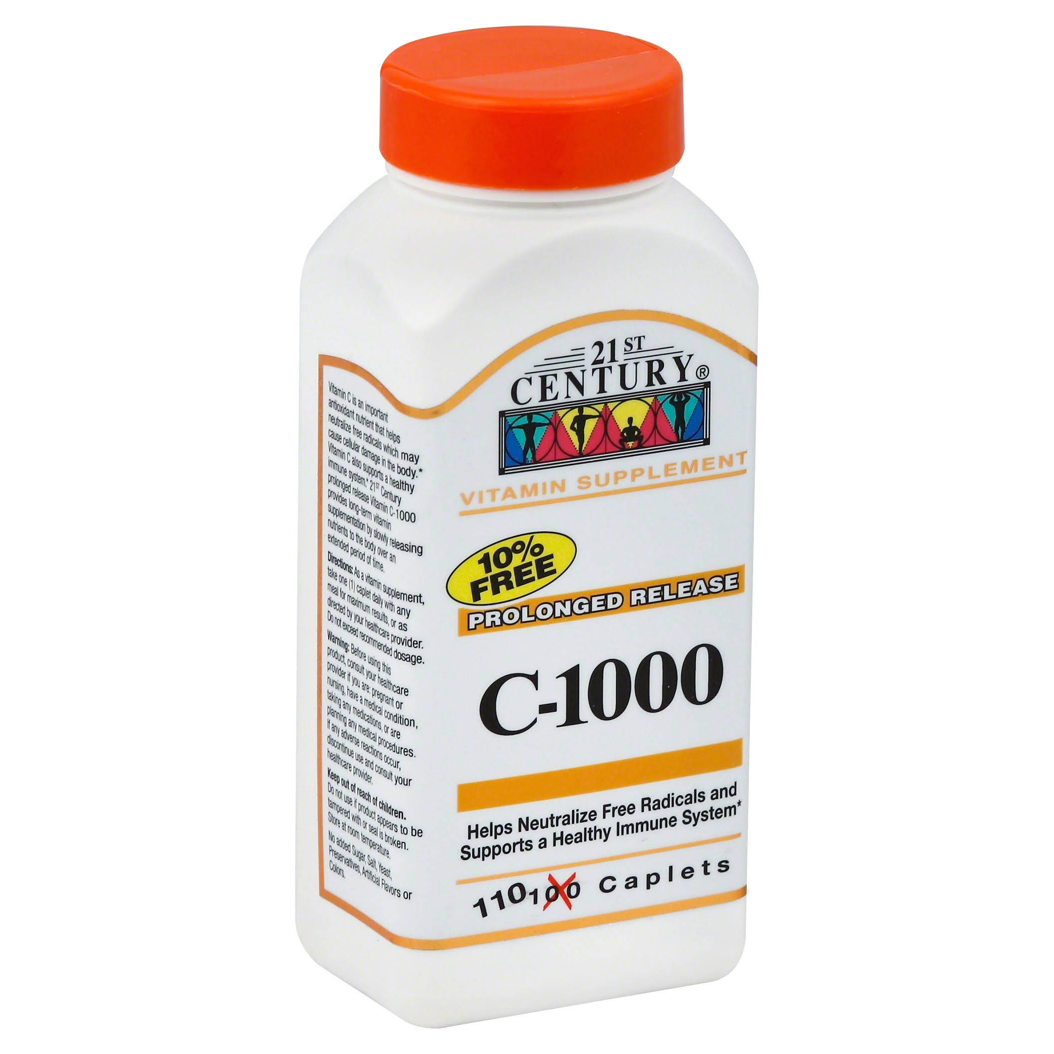 21st Century Health Care C-1000 Prolonged Release Supplement - 110 Caplets