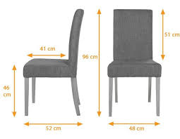 Standard Dining Chair Dimensions Inspiration Decorating 32705 Interior Design On Room