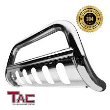 TAC Bull Bar For 2016-2018 Toyota Tacoma (Remove Skid Plate- If ... 2018 Toyota Tacoma Accsories Youtube For Toyota Truck Accsories Near Me Tacoma Advantage Truck 22802 Rzatop Trifold Tonneau Cover Are Fiberglass Caps Cap World 2017redtoyotamalerichetcover Topperking Bakflip F1 Autoeqca Cadian Dodge 2016 Beautiful Blacked Out Trd Grill On Toyota Double Cab Specs Photos 2011 2012 2013 2014 Bed Upcoming Cars 20