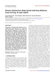 PDF) Severe Obstructive Sleep Apnea And Long Distance Truck Driving ... Are Mexican Trucks And Drivers Safe On Us Roads Talking Tirepass 3 Ways For Truck To Report Unsafe Trucking Companies The Autonomous Trucking Report How Selfdriving Technology Is Howto Cdl School 700 Driving Job In 2 Years Untitled Race Flash Truck And Bus Race Innovations Region Of Ottawacarleton Rgion Dottawacarleton Rapport Forestbucker Web Service Inventory Truck Accident Report Form Cerunicaaslcom