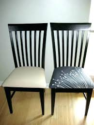 Recovering Dining Room Chairs Chair Fabric Ideas How Much