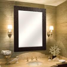 chagne bronze mirror wayfair