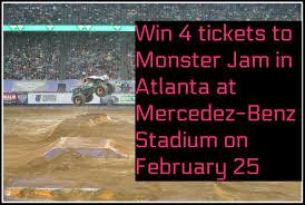 100 Monster Trucks Atlanta Win 4 Tickets To Jam In Daddy Mojo