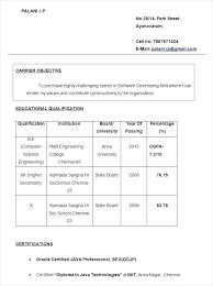 Resume Format Fresher For Diploma Freshers Resumes Formats Free Templates