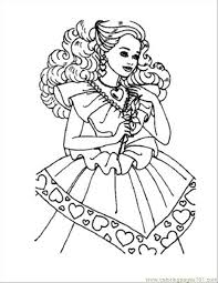 Elegant Barbie Coloring Pages Online Free 61 With Additional For Kids