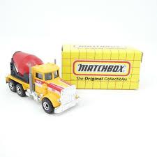 100 Peterbilt Trucks For Sale On Ebay Vintage Matchbox Cement Truck MB19 1993 Diecast Toy