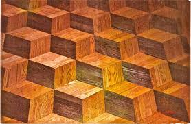 My First Custom Floor Finished In 1990 Using White Oak Strips And
