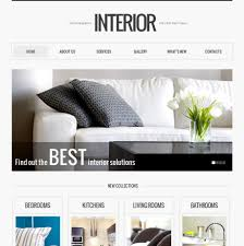 100 Interiors Online Magazine Interior Website Template MotoCMS