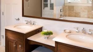 Bathroom Vanities With Matching Makeup Area by Double Sink Vanity With Makeup Area Double Sink Bathroom Vanity
