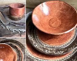 Wild Buffalo Dinnerware Set And Tumbler Native American Southwestern Ranch Cabin Rustic