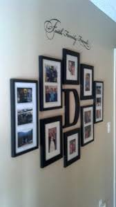 Wall Picture Collage Ideas Faith Family And Friends Hallway For The Throughout