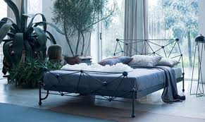 Decorate Bedroom With Iron Bed Bedrooms Cottage White