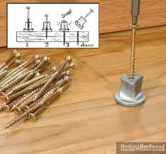 This Old House Squeaky Floor Screws by How To Fix A Squeaky Floor Hardwood Flooring Guide