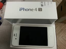 For Sale LNIB Bell Locked 1 month old Iphone 4S white 16gb Box
