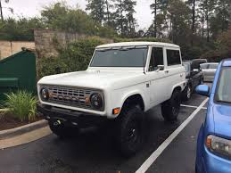 Really Cool ICON Bronco In The Woodlands TX. | Accelerate | Ford ...