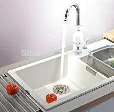 mini instant water heater faucet kitchen under sink tank