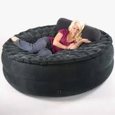 Human Cat Bed Smart Air Beds Sumo Sized Inflate A Sac Ultimate Inflatable