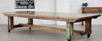Recycled Timber Dining Tables Outdoor Furniture Melbourne