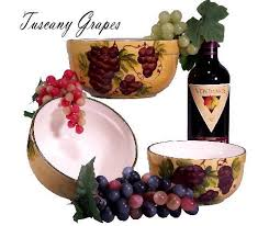 Tuscan Wine And Grape Kitchen Decor by 90 Best Tuscan And Italian Accents Images On Pinterest Fleur De