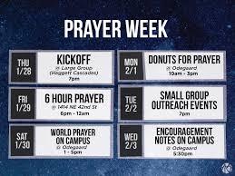 100 Uw Odegaard Hours Prayer Week Asian American Intervarsity At The University Of