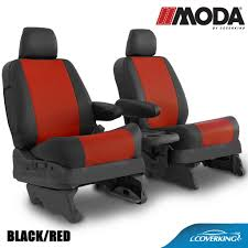Coverking MODA Leatherette Custom Fit Seat Covers For JEEP – PREMIUM ...