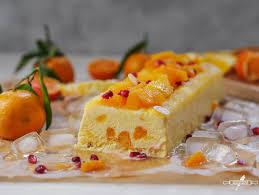 joghurt parfait mit mandarinen und orangen