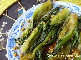 cuisiner le chou chinois cuit pack choï braisé la cuisine de quat sous