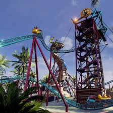 Spin coaster Cobra s Curse to open at Busch Gardens in 2016