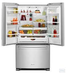 Counter Depth Refrigerator Width 30 by 36 Kitchenaid 20 Cu Ft Width Counter Depth French Door Refrigerator