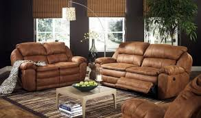 Dark Brown Sofa Living Room Ideas by Furniture Traditional Style Light Brown Leather Sofa Decorating