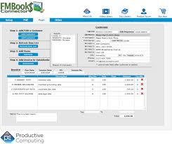 Push Customers And Invoices From FileMaker To QuickBooks