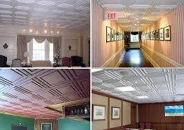 cambridge direct mount ceiling tiles white