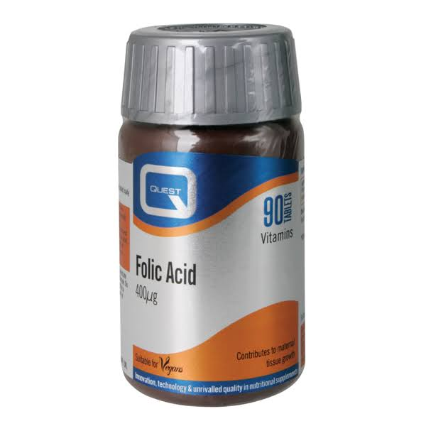 Quest Folic Acid - 90 Tablets