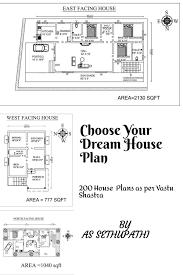 100 Free Vastu Home Plans Choose Your Dream House Plan 200 House As Per Shastra Ebook By A S SETHU PATHI Rakuten Kobo