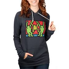 obey clothing haring friends pullover hoodie women u0027s evo