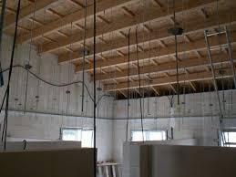 autoconstruction de notre maison plafond placo
