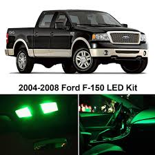 Amazon.com: LEDpartsNow Ford F-150 F150 2004-2008 GREEN Premium LED ...