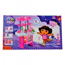 Dora The Explorer Kitchen Set by Kitchen Sets Dolls For Girls Toys For Girls