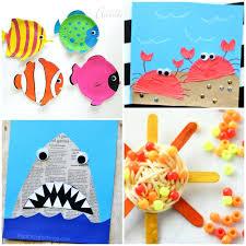 Summer Art And Craft Ideas For Kindergarten Fun Arts Crafts Activities