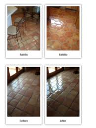 sealing and stripping saltillo floors