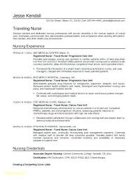 Pacu Rn Resume Examples Beautiful Registered Nurse Template Objective