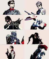 Captain America Marvel Comics Bucky Barnes Winter Soldier Hotek95 Graphics Marveledit Comicedit