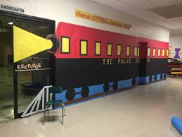 Polar Express Door Decorating Ideas by My Polar Express Train Classroom Doors Pinterest Polar