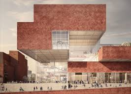100 Contemporary Brick Architecture New Images Reveal Olympicopolis Vision By Allies And Morrison And O