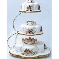 Tiered Cake Stands For Wedding Cakes On With Pme E Shape Tier Gold Stand
